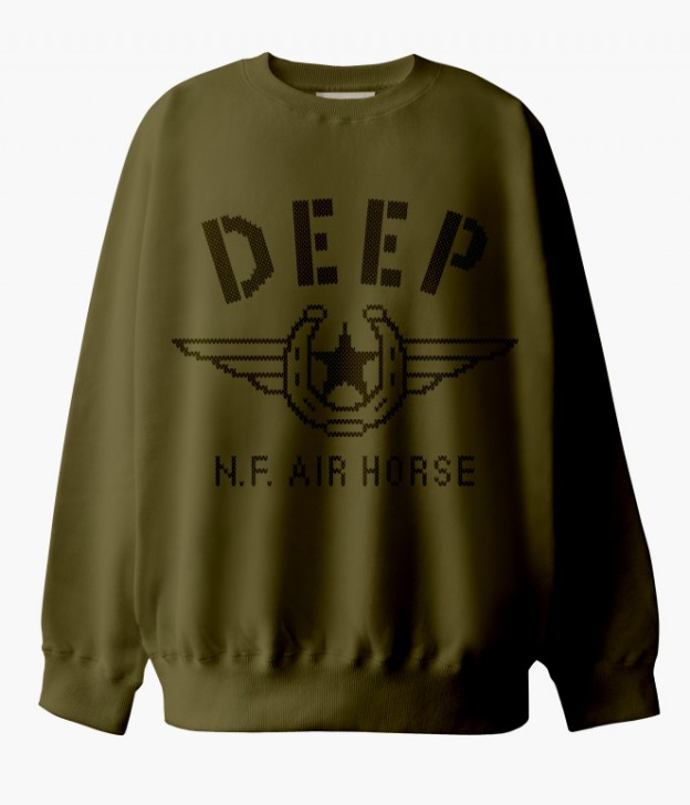 DEEP N.F. AIR HORSE SWEAT SHIRTS