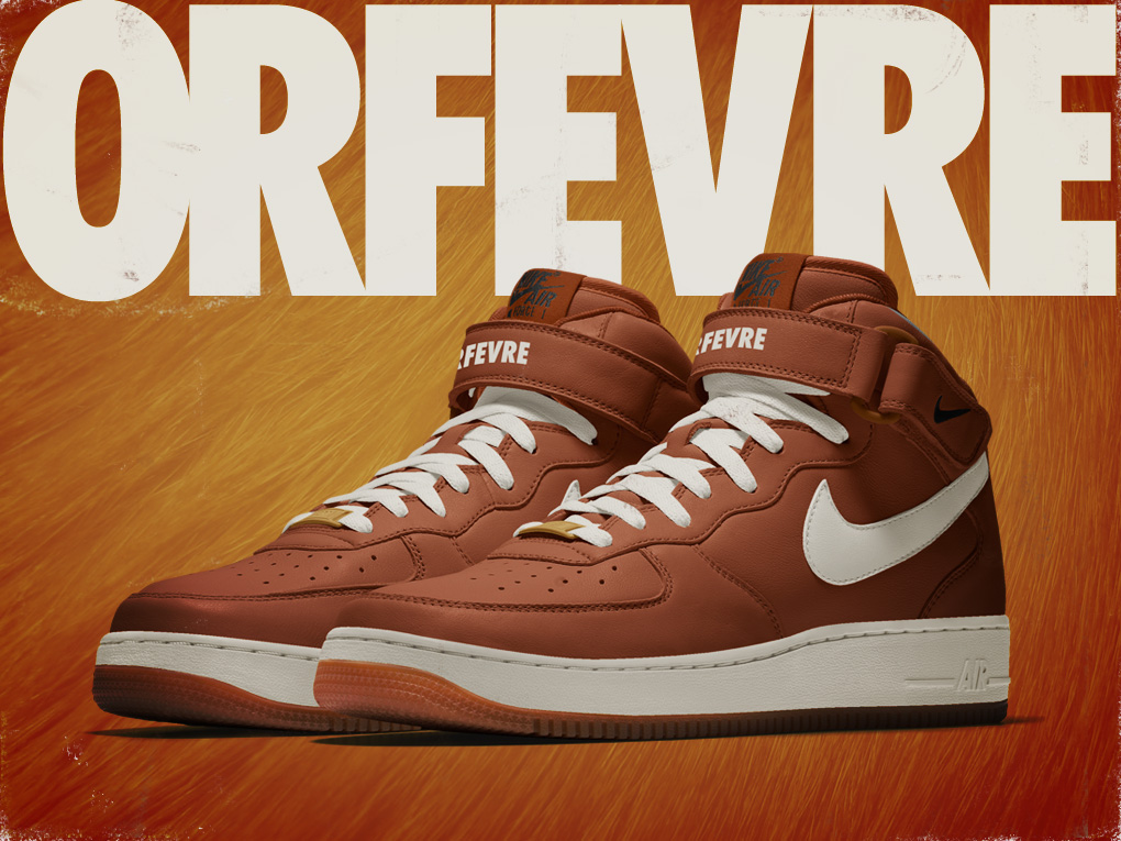 Orfevre Nike Air Force 1