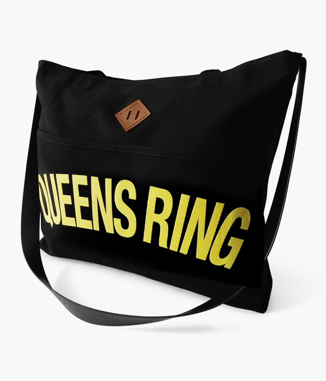 QUEENS RING REINS TOTE BAG