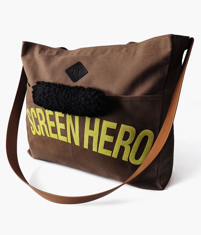 SCREEN HERO REINS TOTE BAG