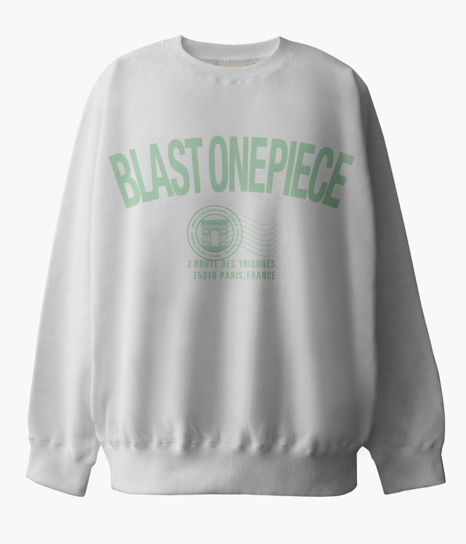 BLAST ONEPIECE INVITATION SWEAT SHIRTS