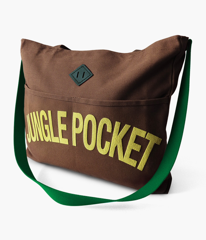 JUNGLE POCKET REINS TOTE BAG